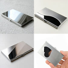Metal Wallet Pocket Stainless Steel Box Case Business ID Credit Card Holder