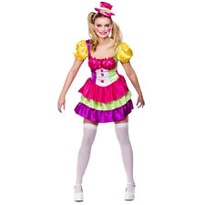 Ladies Cute Clown Costume for Sexy Fancy Dress Womens