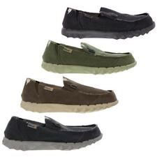 Hey Dude Farty Classic Mens Slip On Canvas Mules Moccasins Shoes Size UK 8-12