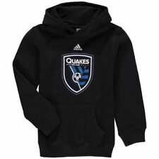 San Jose Earthquakes adidas Youth Primary Logo Team Pullover Hoodie - MLS