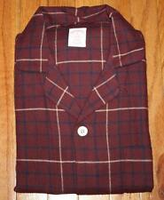 NEW NWT Mens Brooks Brothers Plaid Flannel 2-Piece Pajama Set Shirt & Pants *E2
