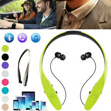 Bluetooth V4.0 Neckband In-Ear Headphone Headset Earphone For iPhone Samsung HTC