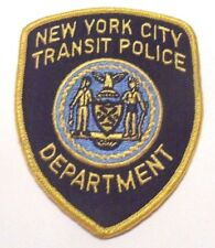 OLD DEFUNCT NEW YORK CITY TRANSIT POLICE PATCH