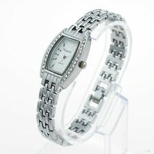 Fashion Lady Girl Silver Stainless Steel Bracelet Quartz Jewelry Wristwatch O47