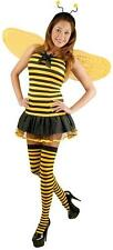 Honey Bee 60's Bumble Animal Insect Fancy Dress Halloween Sexy Adult Costume