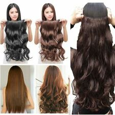 100% Thick 23-26 Inch Full Head Clip In Hair Extensions Brown/Black/Blonde H14
