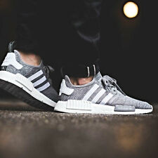 ADIDAS NMD R1 PRIMEKNIT PK MEN GREY SIZE 7-12 BOOST PHARRELL RUNNER CAMO ULTRA