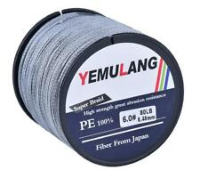 500M PE Braided Line Extreme Fishing Line Agepoch Super Strong Dyneema Spectra