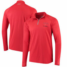Dayton Flyers Under Armour 1/4 Zip Performance Top - Red - NCAA
