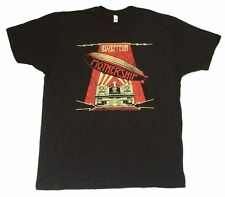 Led Zeppelin Mothership Distressed Image Black T Shirt New Official Soft