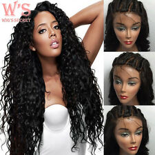 Deep Curly Human Hair Wig Lace Front Wig For Black & Full Lace Wig 360 Baby Hair