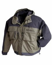 DAIWA WILDERNESS WADING JACKET - FLY FISHING JACKET - M L XL XXL