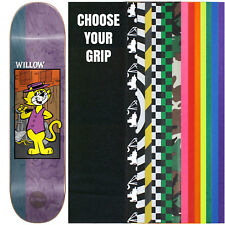 """Almost Skateboard Deck WILLOW TOP CAT 8.375"""" With Griptape"""