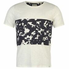 ONeill Mens Frame Panel T Shirt Print Cotton Short Sleeve Crew Neck Tee