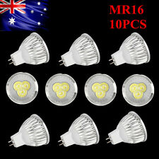 10 x Quality Epistar LED Downlight Globes / Bulbs 9W 12V MR16 Warm Cool White