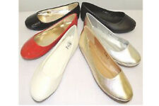 New Classic Plain Round Toe front  Ballerina Dolly  Flat Pumps Shoes