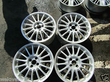 """MG ZS ZR ROVER 45 25 STREETWISE 17"""" INCH STRAIGHT ALLOY WHEELS PCD 4 x 100"""