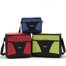 Insulated Cooler Bag Camping Beach Picnic Lunch Food Drink Ice Cool Box 3 Sizes