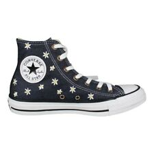 Converse Ladies Shoes Chuck Taylor All Star Sneaker Hi Navy (blue with flowers)