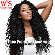 US Seller 100% Human Hair Lace Front Wig Full Lace Wig & 360 Lace For Womens #gg