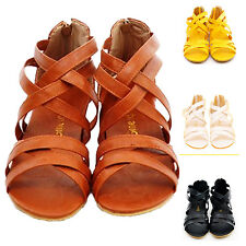 kala womens strappy Casual Roman slippers Vintage Shoes Fashion Sandals Size
