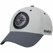 Winnipeg Jets Reebok Crosscheck 2-Tone Structured Flex Hat - Gray - NHL