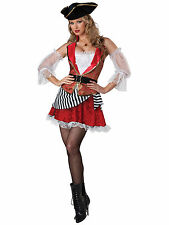 Pretty Pirate of the Caribbean Swashbuckler Buccaneer Women Costume