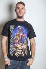 Iron Maiden T Shirt Somewhere Back In Time Jumbo Official Black Mens Unisex NEW