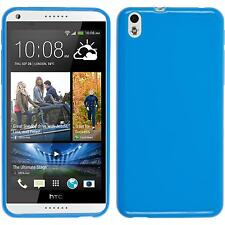 Silicone Case for HTC Desire 816 brushed  + protective foils