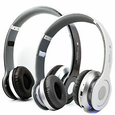 Stereo Bluetooth Headset with FM Support TF MP3 For iPhone Samsung LG Smartphone