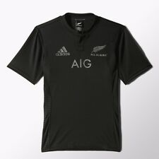 Adidas All Blacks New Zealand Home Replica Team Rugby Jersey new for 2015/2016