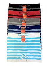 Lot 3 6 12 Men Seamless Boxer Briefs Knocker Microfiber Underwear Free Size #16