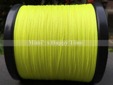 PE Fishing Line Yellow Green 100 300 500 1000M Spectra Dyneema Braid LINE SPORTS
