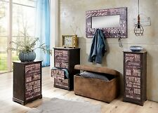 """Shabby Chic"" Matching Range of Furniture, Dark Reclaimed Wood Finish."