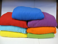 ORANGE---WASHABLE COVERS FOR LOVESEAT SOFA COUCH CHAIR RECLINER FUTON-STRETCHES