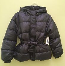 NWT Old Navy Girls Frost Free Puffer Jacket XS(5) S(6-7) M(8) Gray $49.94 Coat