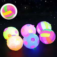 LED Volleyball Flash Light Bouncing Tired Relief Hedgehog Massage Ball Kids Toy
