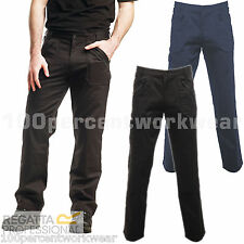 Regatta Professional TRJ339 Cullman Work Trousers Pants Zipped + Knee Pockets