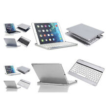 Ultra Slim  Aluminum Wireless Bluetooth Keyboard Case Cover For iPad Air 1/2