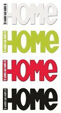 Magnetic Kitchen Word Fridge Magnet Home Is Where The Heart Is Splosh Home Gifts