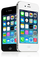 "Apple iPhone 4S 5 - 8 16 32 64GB GSM ""Factory Unlocked"" Smartphone Black / White"