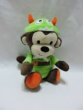 "Just One You Monster Monkey Plush Stuffed Animal 9"" My First Halloween Rattle"