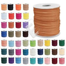 170/80/40M Korea Polyester Waxed Cord Jewelry Beading Thread 1/1.5/2/3mm DIY