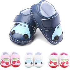 Cute Baby Infant Toddler Crib Shoes Cherry Car Soft Sole Prewalker Shoes Cheaply