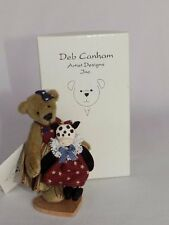 DEB CANHAM MINIATURE MISSI & MISS MOO LTD ED COUNTRY COLLECTION BEAR BOXED
