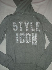 NWT Victoria's Secret Pink Bling Style Icon Hoodie Jacket