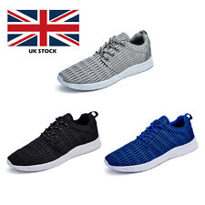 Mens Womens Mesh Breathable Lace Up Sneaker Running Sports Trainers Shoes Lover