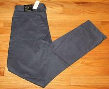 NWT NEW Mens Banana Republic 5 Pocket Pants Sueded Slim Fit Stretch Indigo *E4