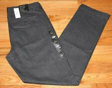 NEW NWT Mens Banana Republic Aiden Stretch Slim Fit Dress Pants $89 Charcoal *G4