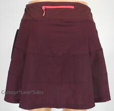 NEW LULULEMON Pace Rival Skirt TALL 2 6 Bordeaux Drama Run NWT FREE SHIP